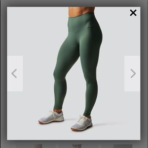 NWT Born Primative Lift Yourself Up leggings green